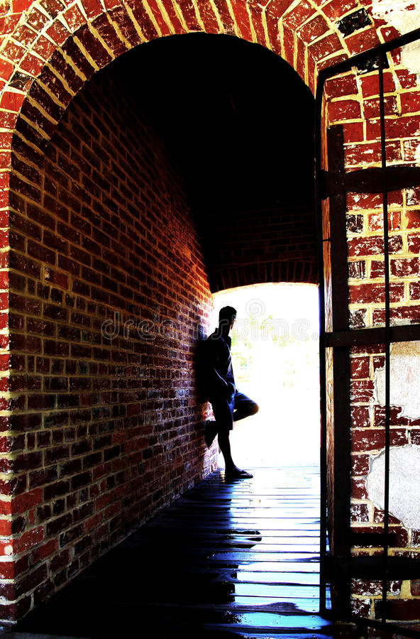 Download Alone stock photo. Image of lone, brick, lonely, feelings - 24860210
