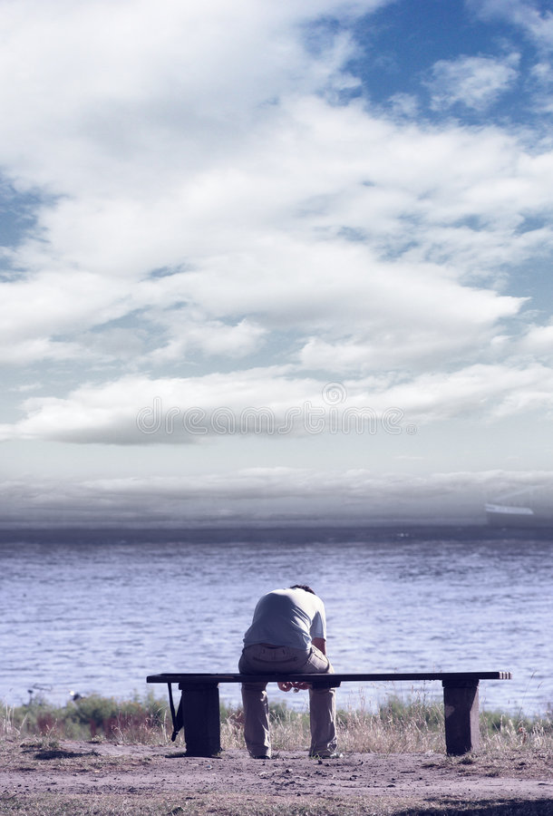 Download Alone stock image. Image of pain, alone, emptyness, waiting - 989191