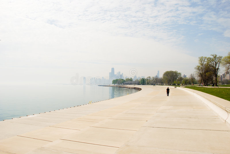 Download Alone in Chicago stock photo. Image of solitude, pure - 2693540