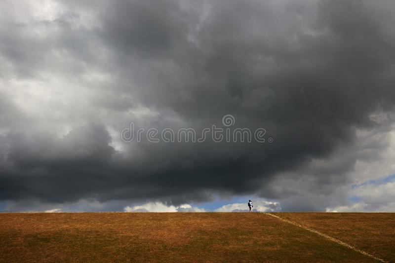 Alone on the stock photos
