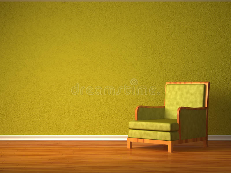 Download Alone Green Chair Stock Photo - Image: 16186470