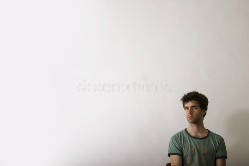 Alone Male stock photo
