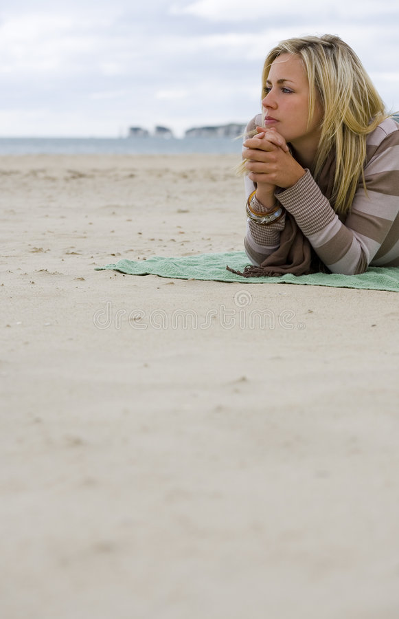 Free Alone With Her Thoughts Stock Photos - 2996863