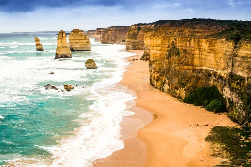 The twelve Apostles, Victoria, Australia royalty free stock images