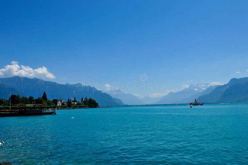 Along the lake royalty free stock images