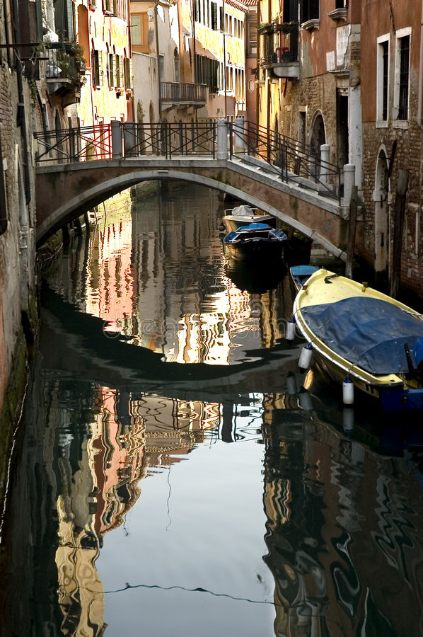Along the streets of Venice royalty free stock images