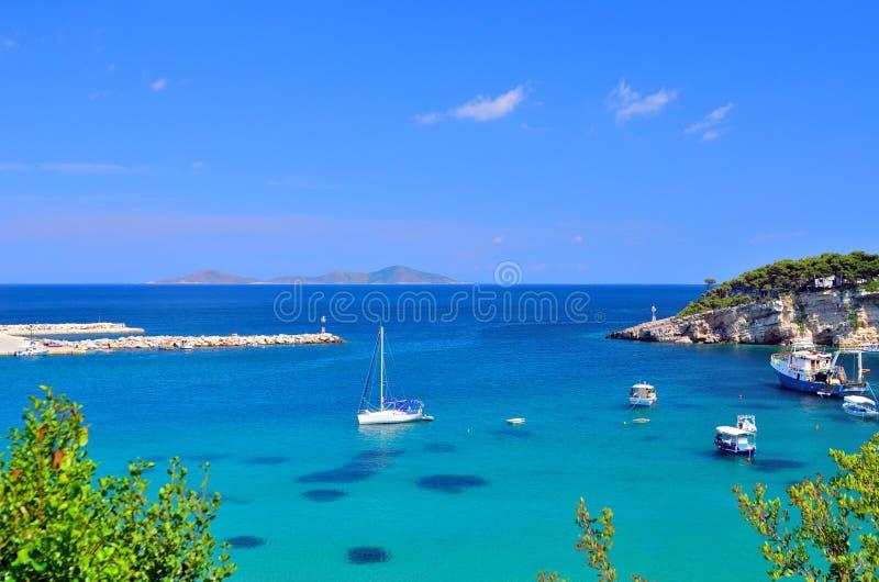 Alonissos-Inseljachthafen, Griechenland lizenzfreie stockfotografie