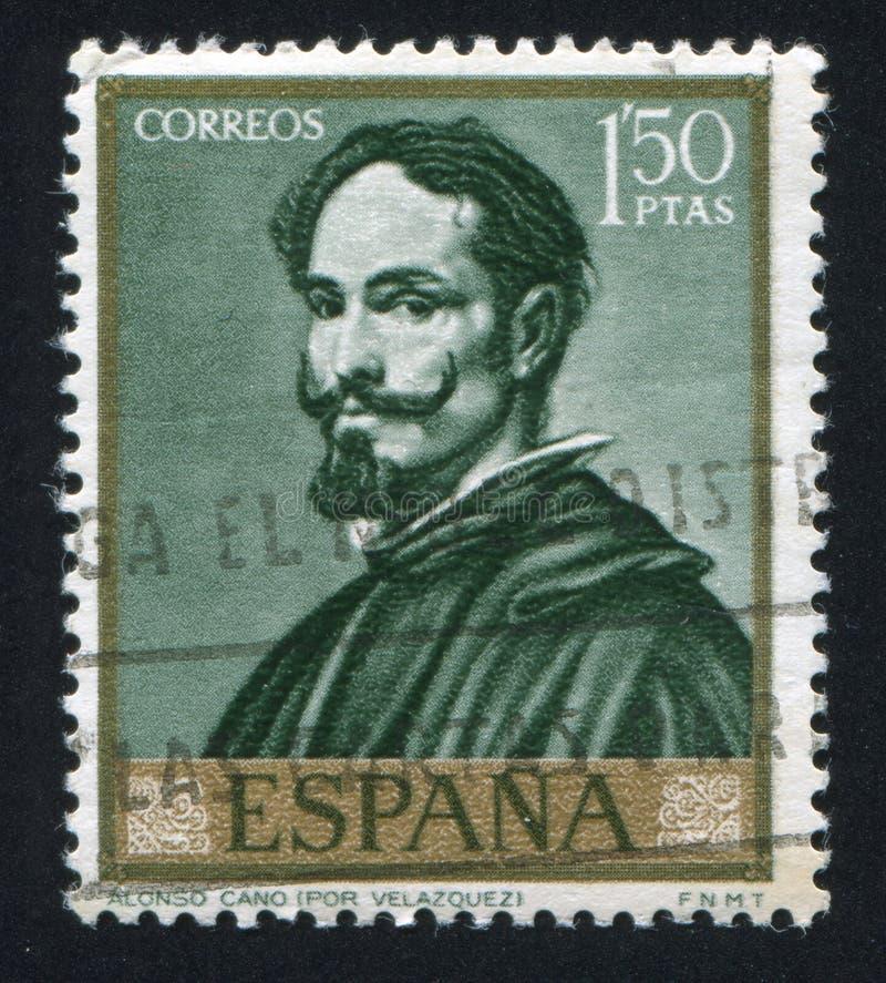 Alonso Cano por Velázquez fotos de stock