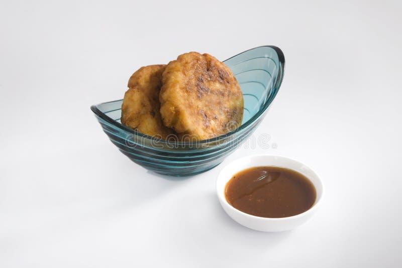 Aloo Tikki ou Fried Potato Balls ou Chaat photographie stock