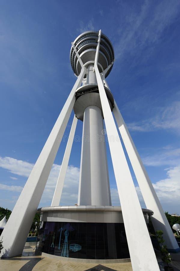 Menara Alor Setar. Alor Setar Tower is a 165.5 m telecommunication tower in Alor Setar, Kedah, Malaysia. Apart from serving the role of a telecommunication tower royalty free stock photo