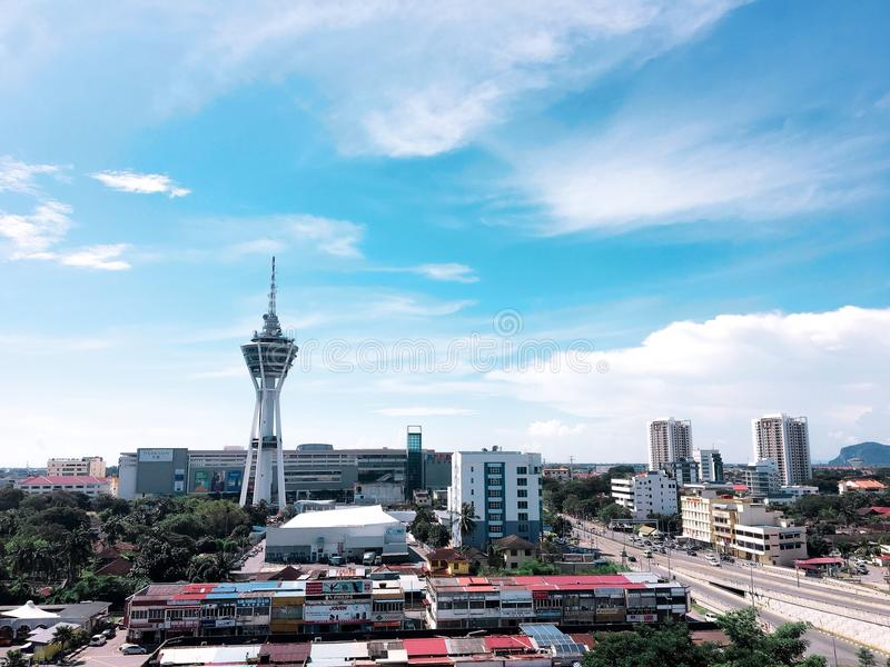 alor star dayview stock image