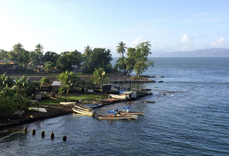 Alotau, κόλπος Milne, Παπούα Νέα Γουϊνέα στοκ φωτογραφίες