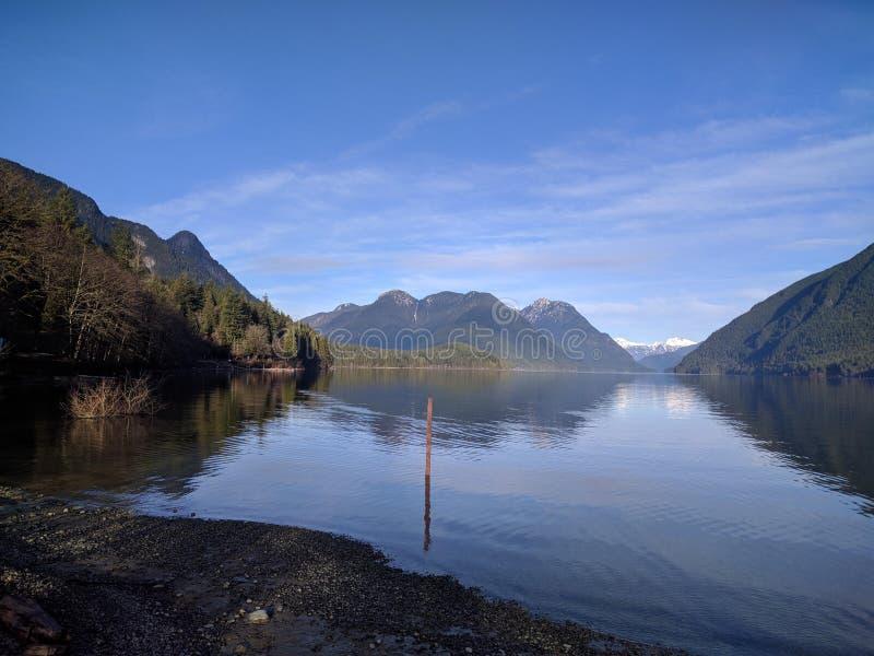 Alouettemeer, Brits Colombia, Canada royalty-vrije stock foto