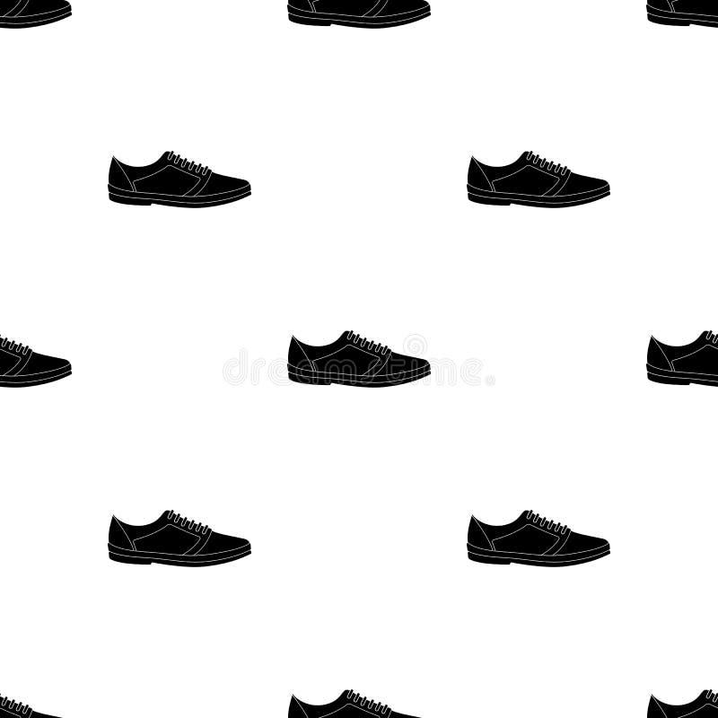 Alpargatas azules del verano de los hombres Zapatos cómodos del verano en los pies desnudos para el desgaste diario Diversos zapa stock de ilustración