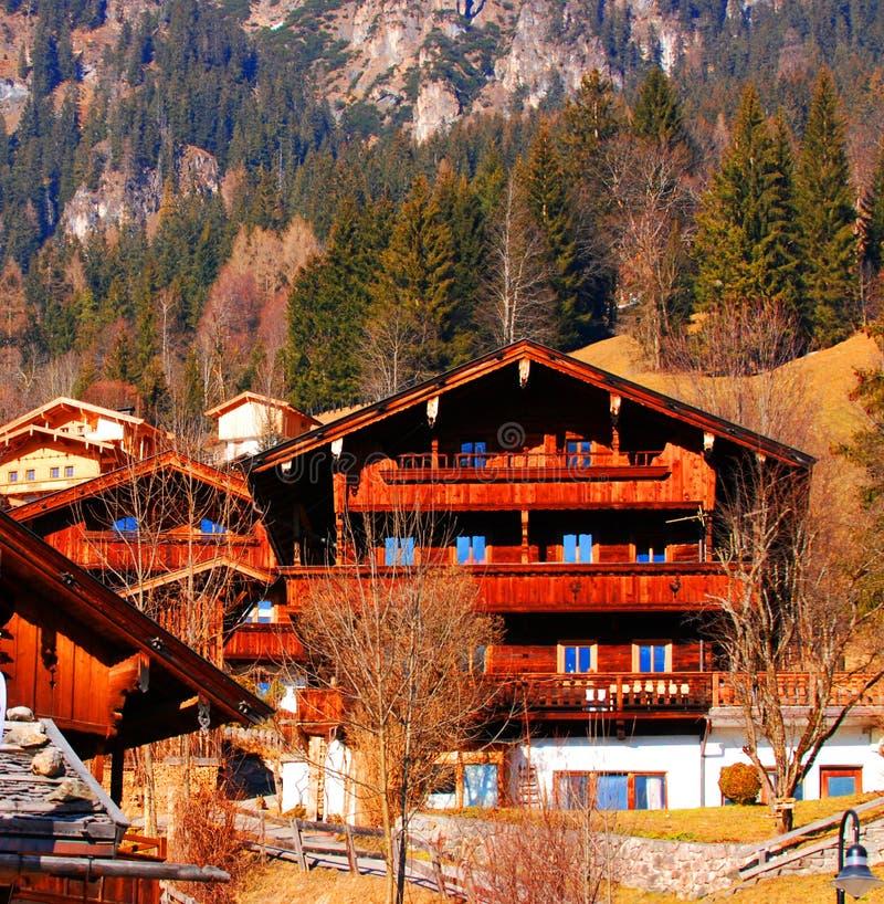 alpbach Österrike arkivfoto