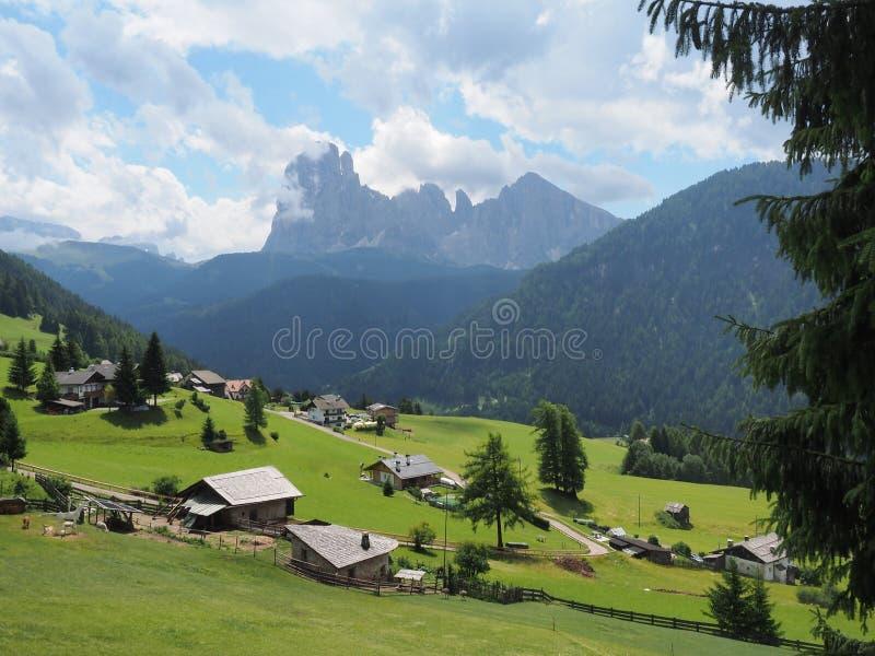 Alpe di Siusi - Seiser Alm Italia fotografia stock libera da diritti