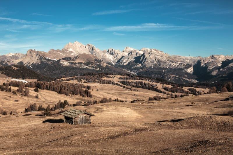 Alpe di Suisi arkivbild