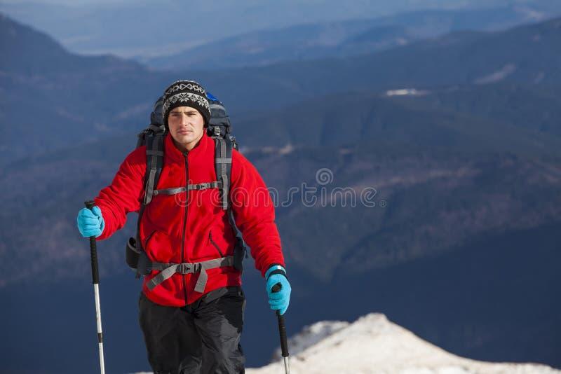 Alpejska wyprawa obraz stock