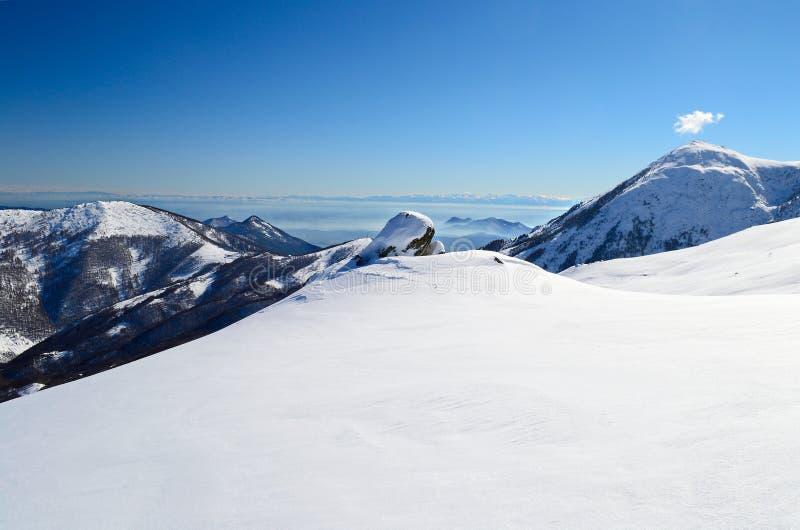 Alpejski łuku widok fotografia royalty free
