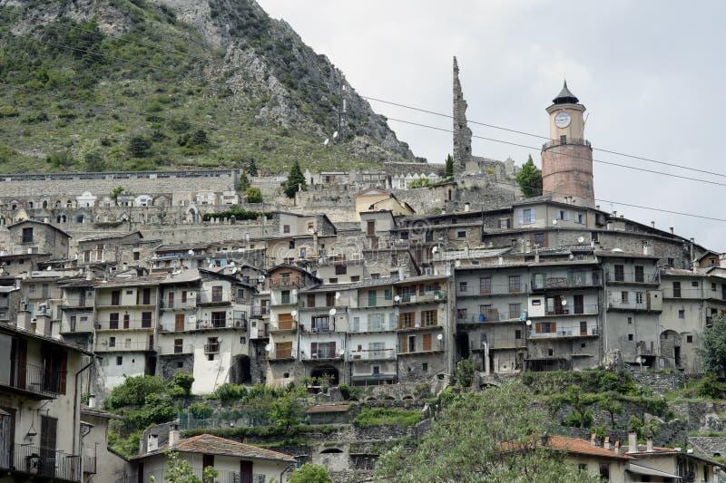 Alpejski miasteczko zdjęcia stock