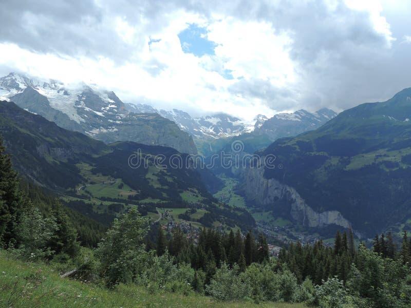 Alpen in der Schweiz stockfoto