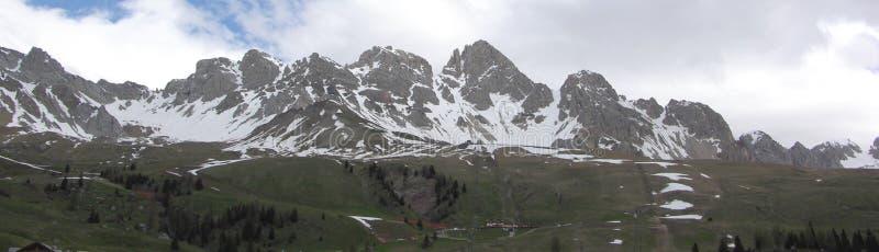 Alpen - Dolomiti - Italië stock afbeelding