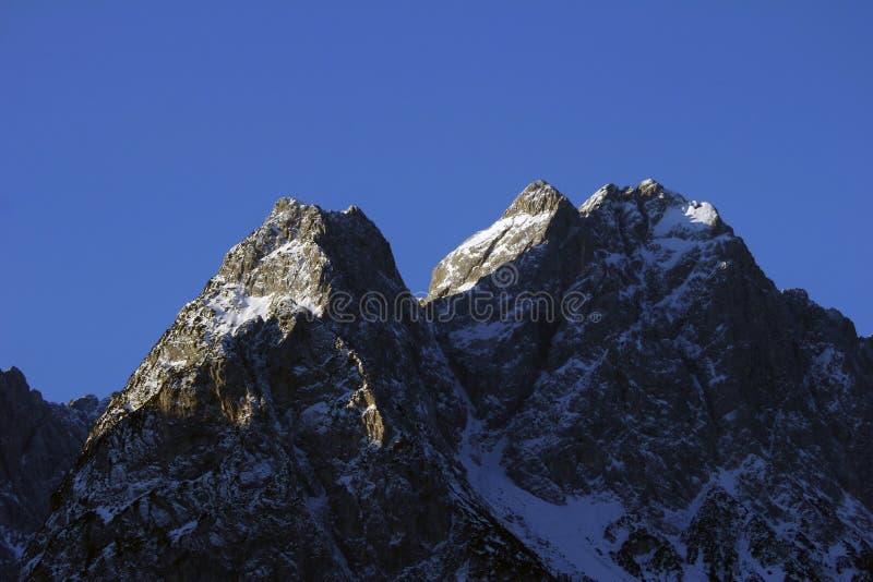 Alpen Duitsland stock afbeelding