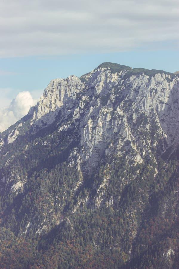 Alpen-Gebirgslandschaft stockfotografie