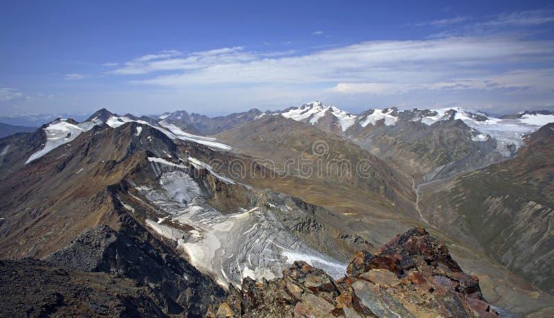 alpen oetztaler royaltyfri bild