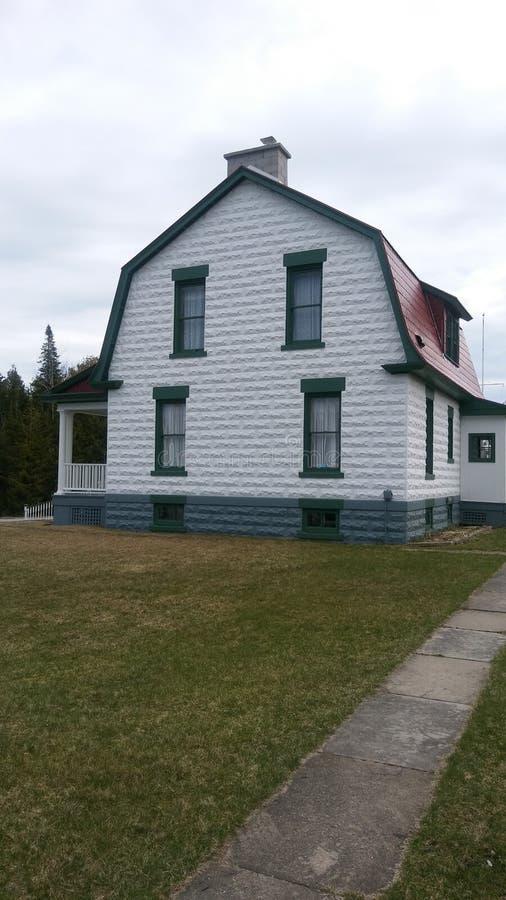 Alpena房子 免版税库存图片
