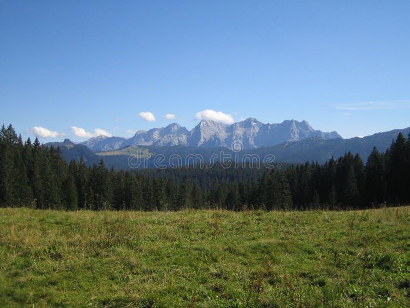 Alpes étonnants photographie stock