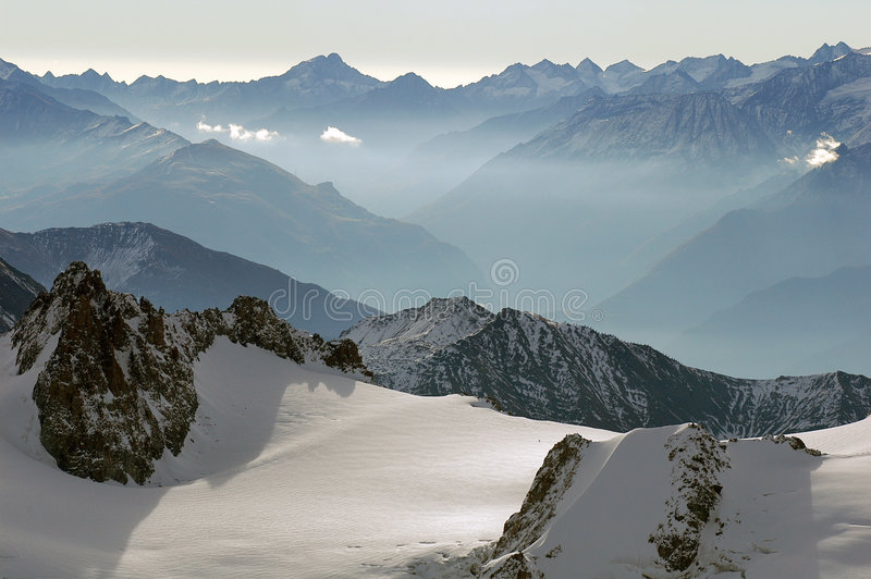 Alpes immagini stock