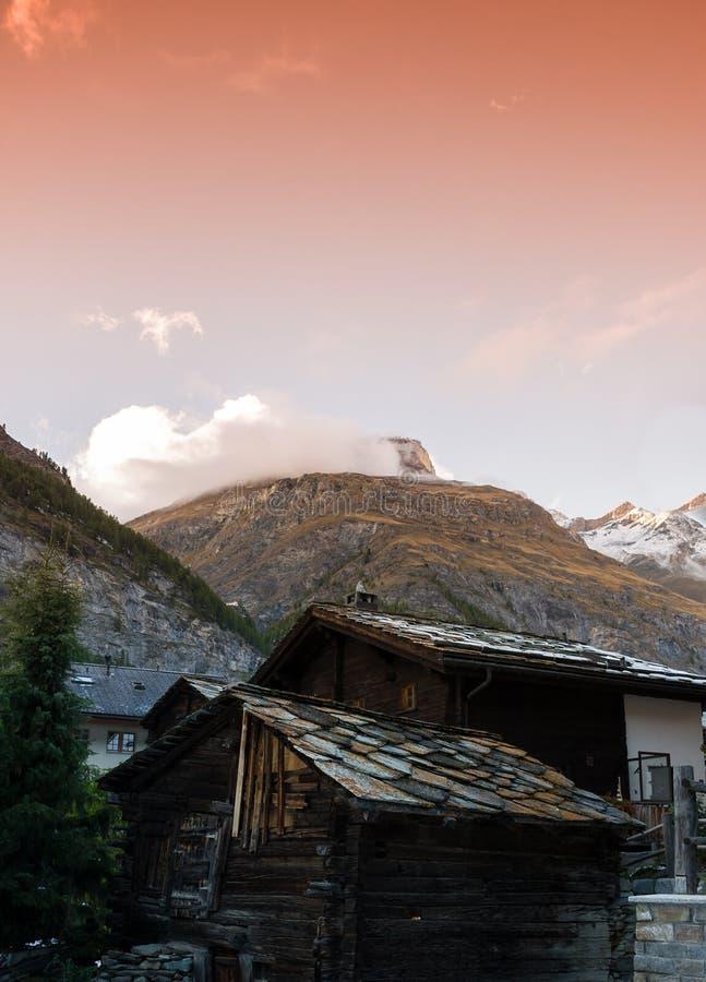 Alpes lizenzfreie stockfotografie