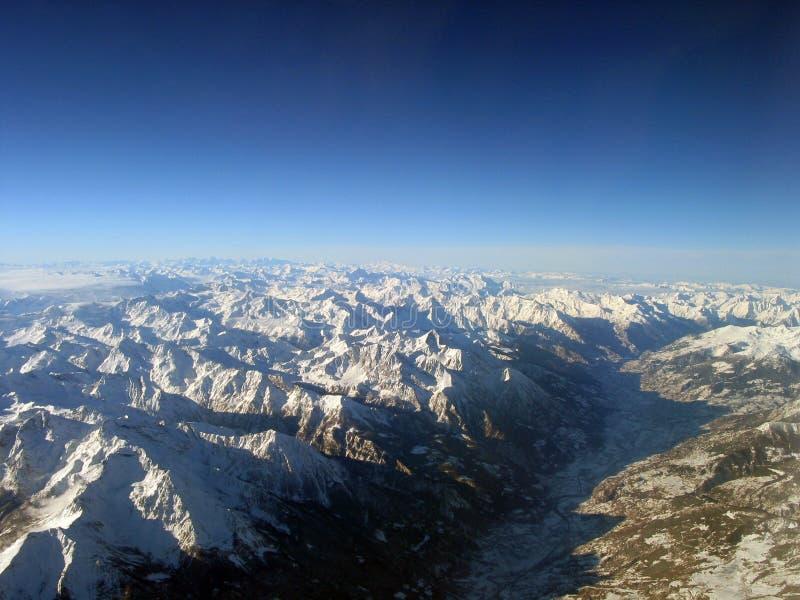 Download Alpes photo stock. Image du panorama, ciel, montagne, glace - 62540