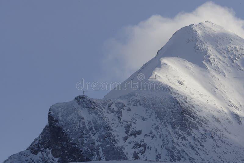 Alpes Imagem de Stock Royalty Free