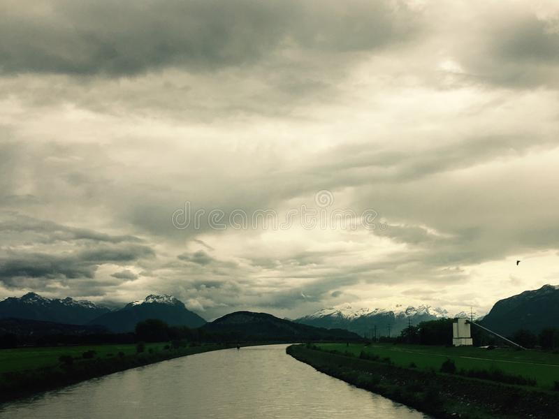 Alpes royaltyfri bild