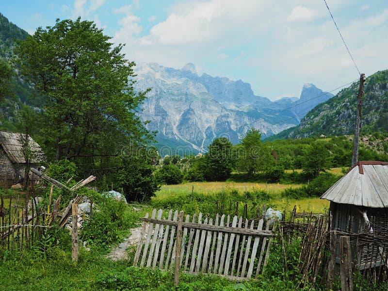 Alpes albanais photos stock