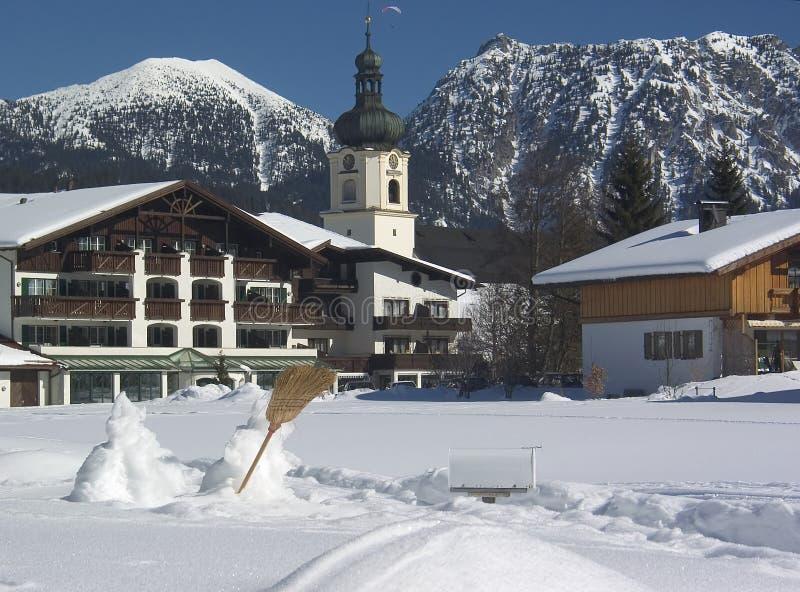 Alpes Austríacos Foto de Stock Royalty Free