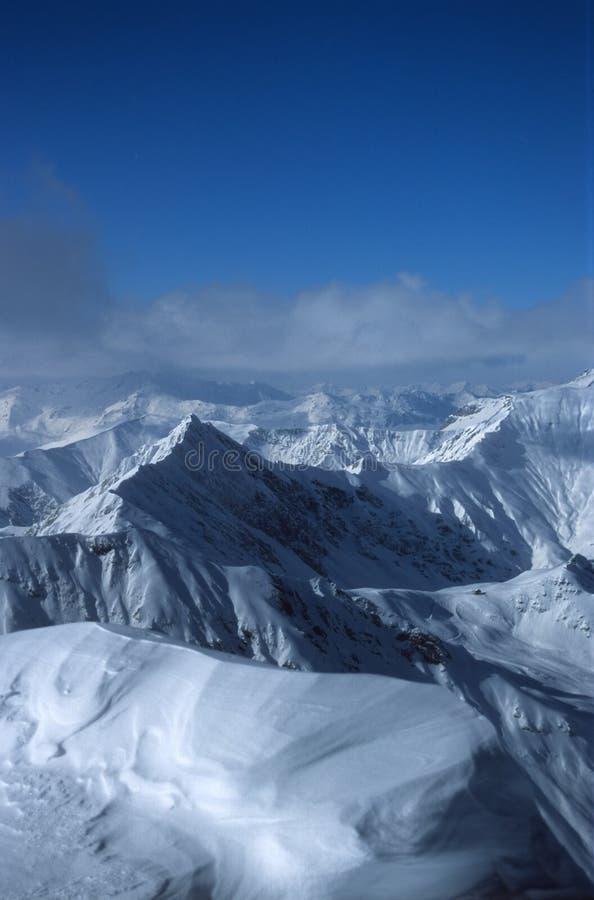 Alpes austríacos 4 fotografia de stock