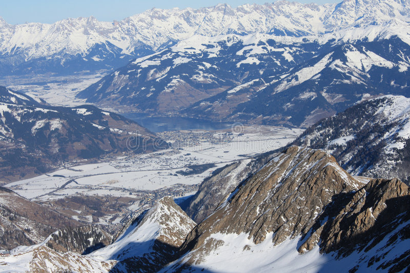 alpes Austria góry obrazy stock