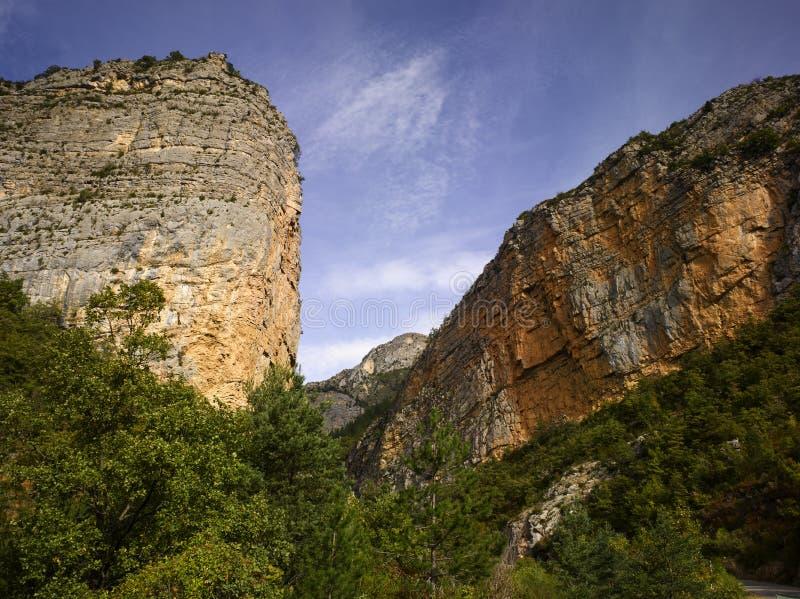 ALpes De Haute Provence; La Vallee Du Bes Royalty Free Stock Photo