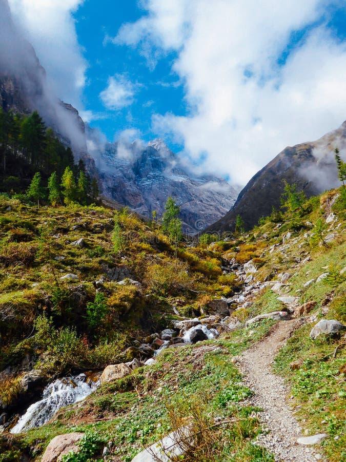 Alpes de l'Autriche - du Carnic photos stock
