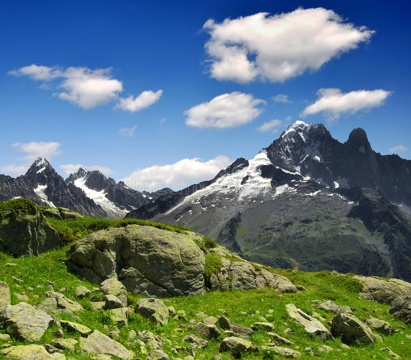 Alpes do Savoy imagem de stock royalty free