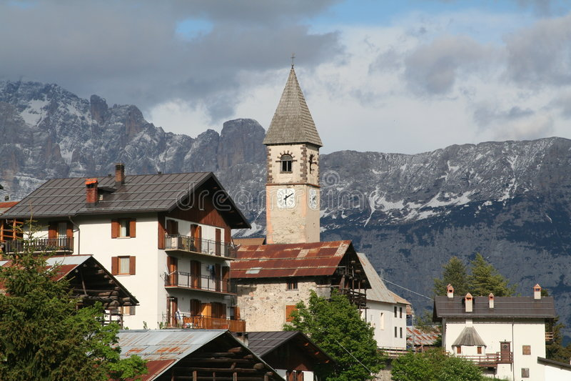 Alpes - Dolomiti - Italie photographie stock