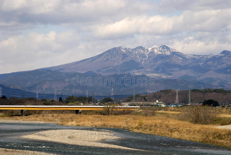 Alpes du Japon, Honshu, Japon photo libre de droits