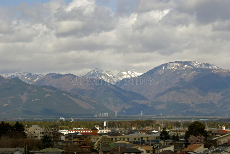 Alpes du Japon, Honshu, Japon photo stock