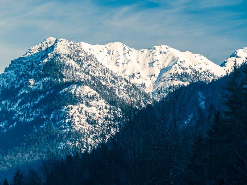 Alpes en Bavière Allemagne photographie stock libre de droits