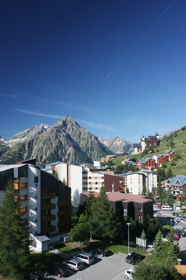 Alpes franceses imagens de stock royalty free