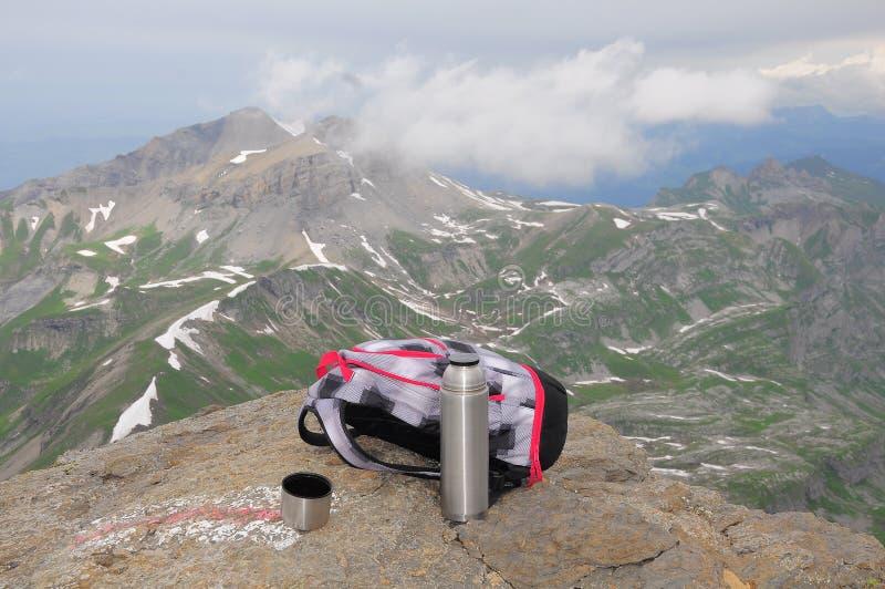 Alpes suisses. photo libre de droits
