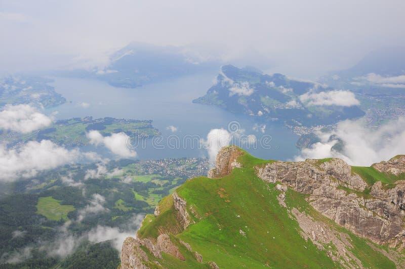 Alpes suisses. images libres de droits